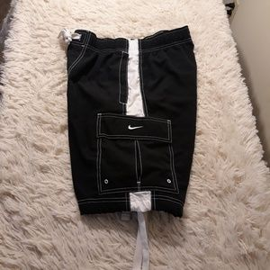 Nike Swim - Nike swimming trunks men small black cargo